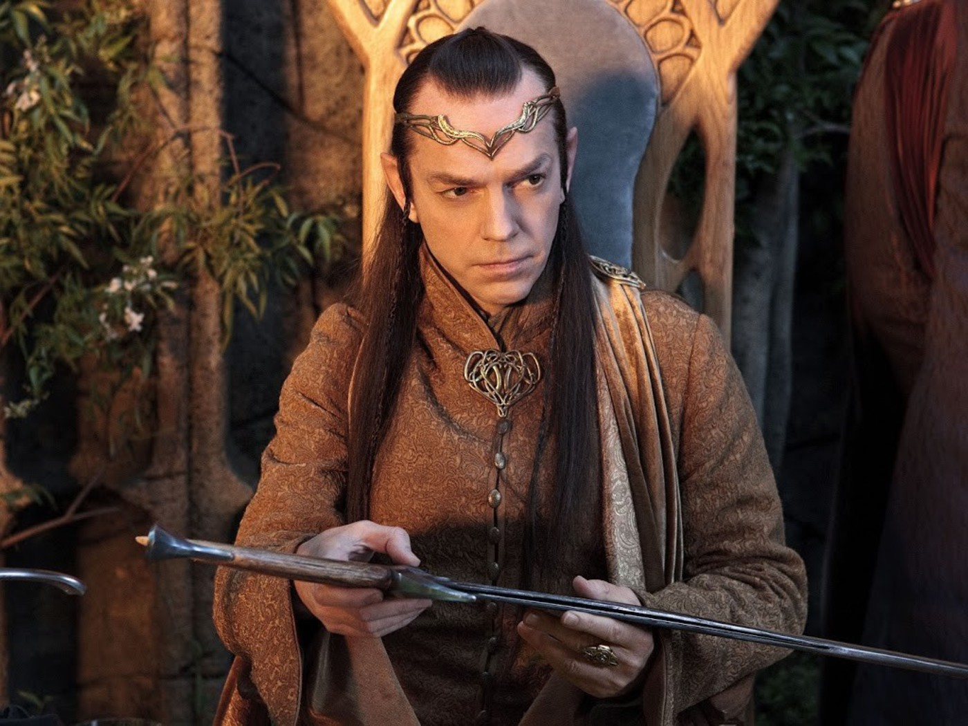 the hobbit hugo weaving elrond wallpaper allwallpaperin