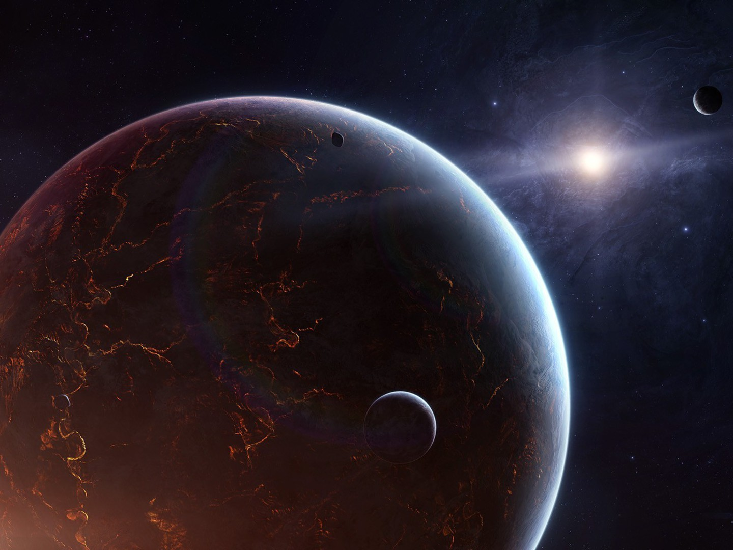 outer space planets and stars - photo #25