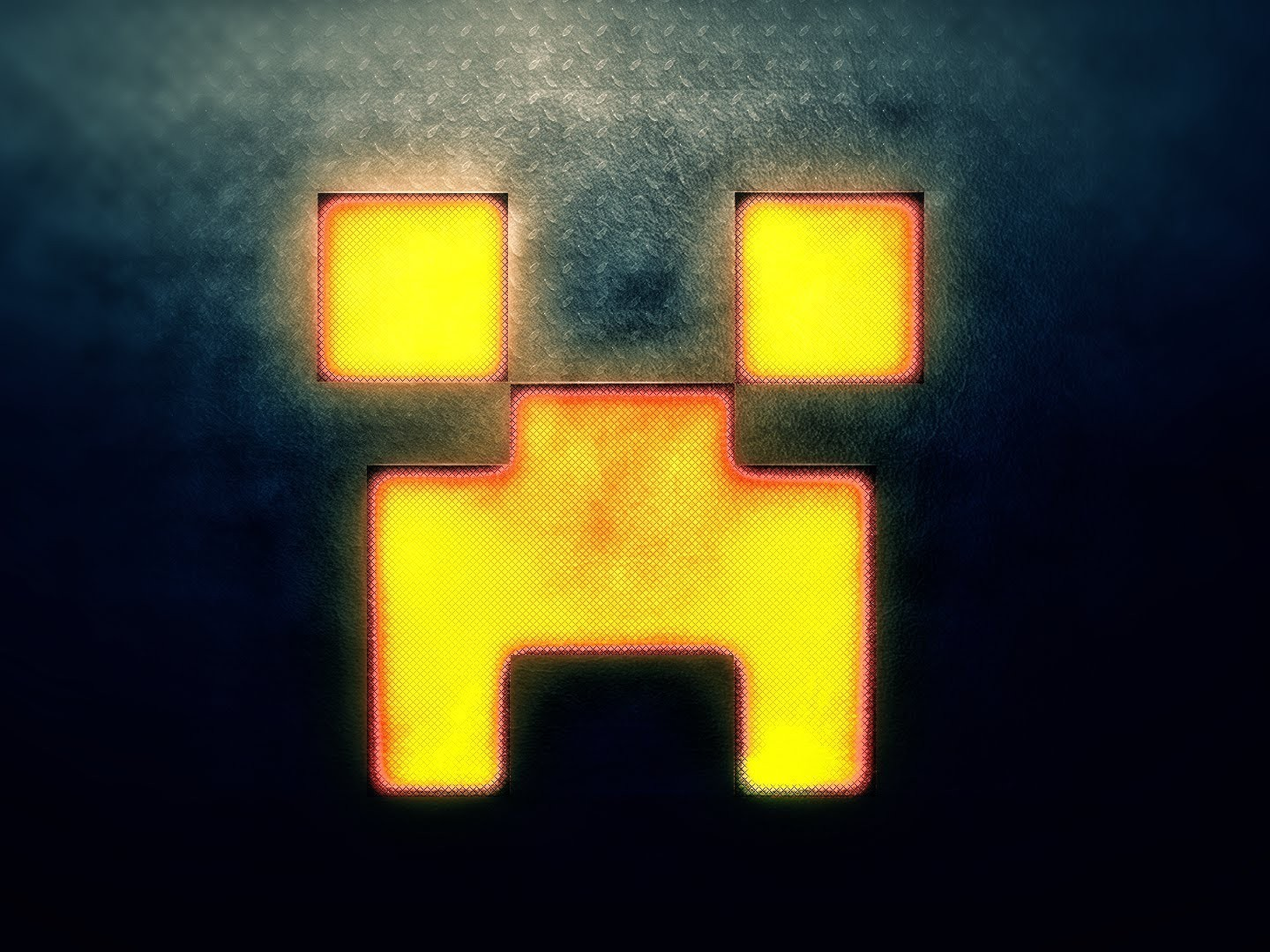 Minecraft creeper face wallpaper 1910 - Creeper iphone background ...