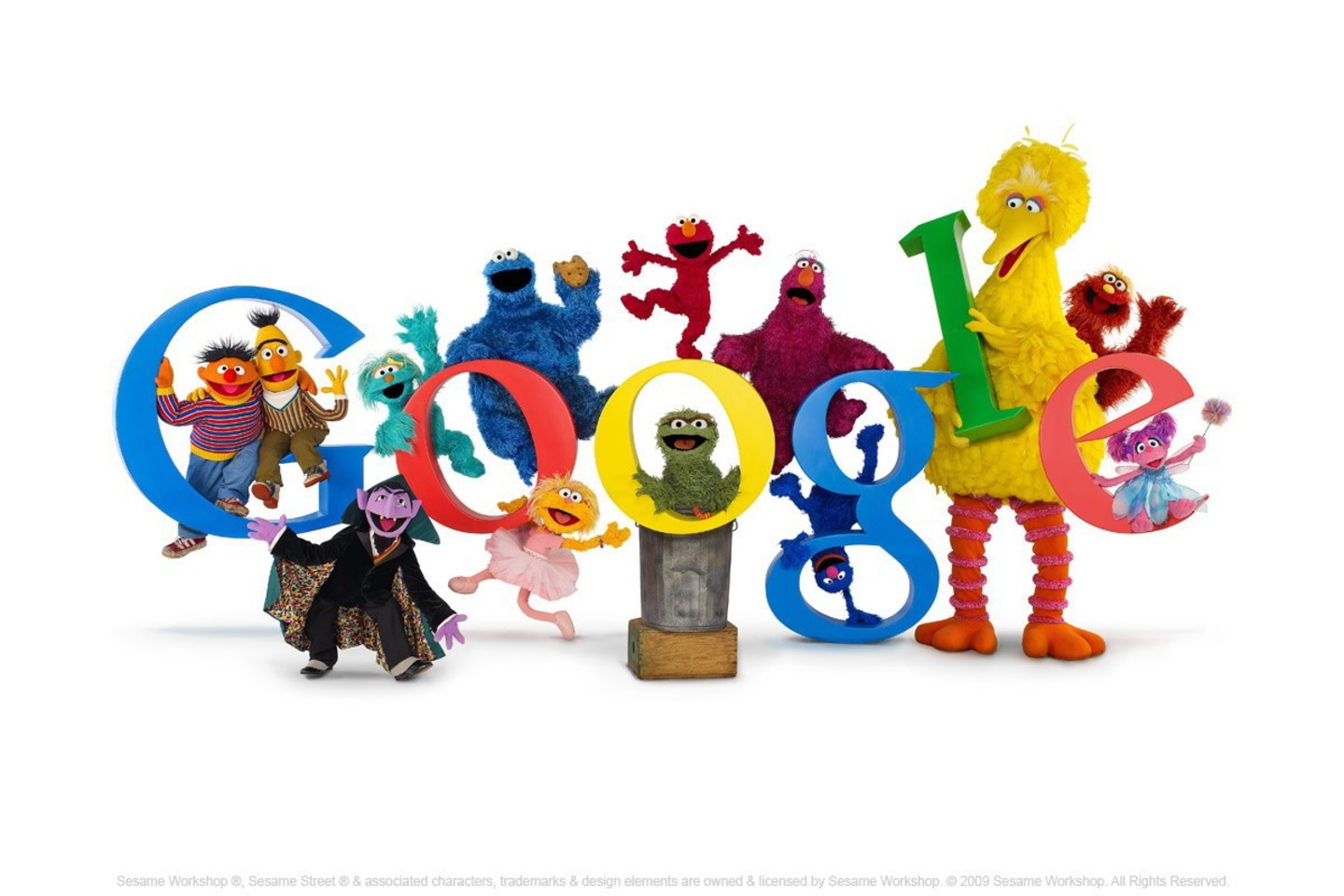 Google Sesame Street Wallpaper