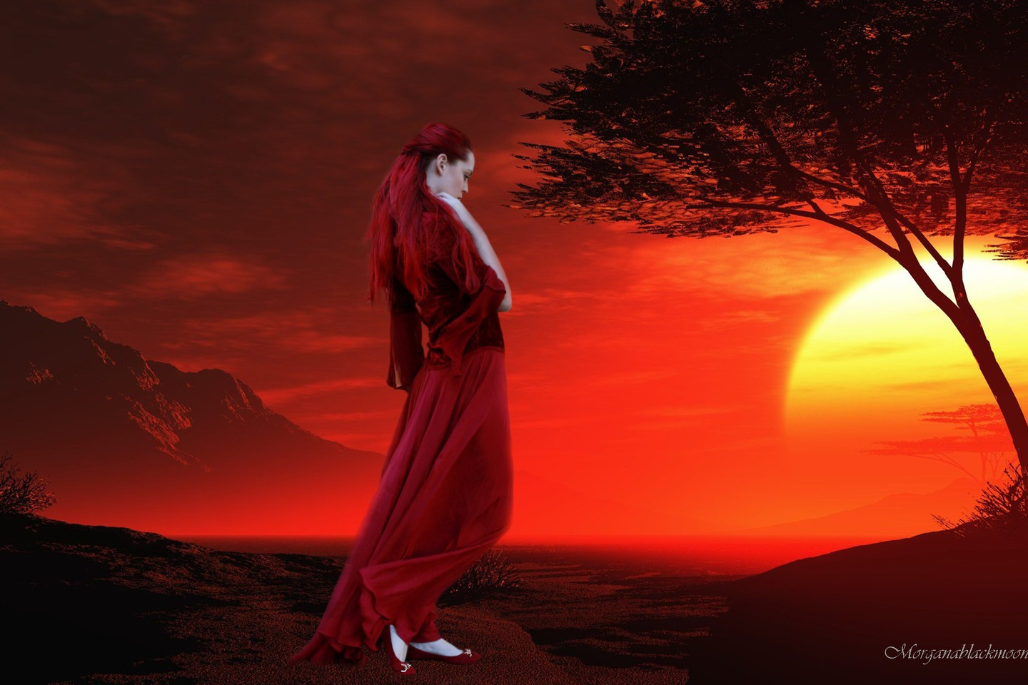 Emotion Hd Wallpapers: Emotional Red Wallpaper
