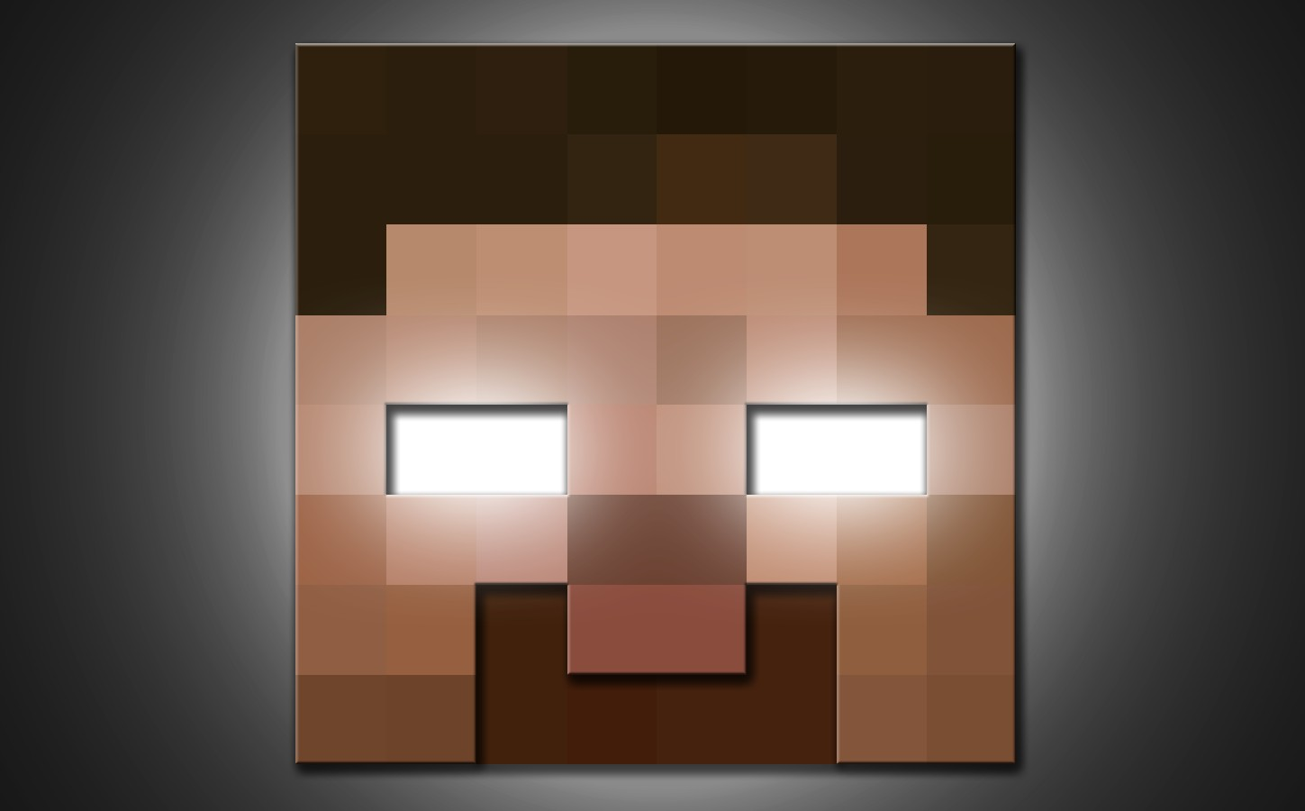Group Of Minecraft Wallpaper Herobrine Face