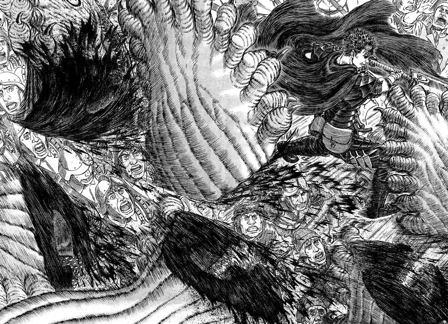 Monsters Berserk Manga Swords Wallpaper