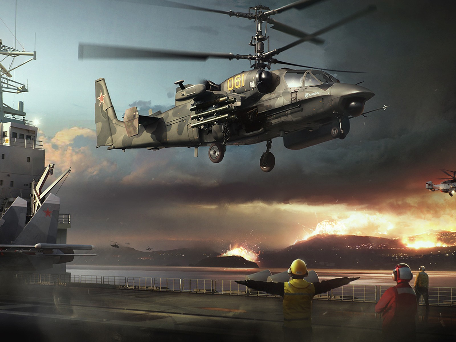 Military Helicopters Ka 52 Wallpaper
