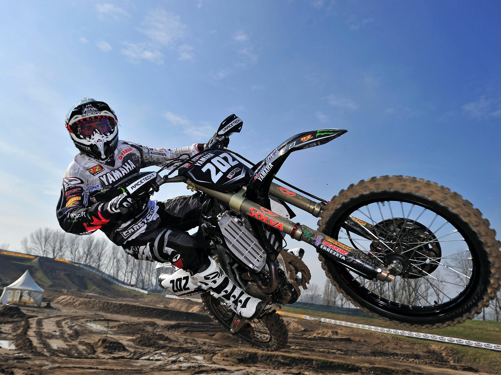 10 New Ktm Dirt Bike Wallpapers Full Hd 1080p For Pc: Yamaha Dirt Bikes Motocross Wallpaper
