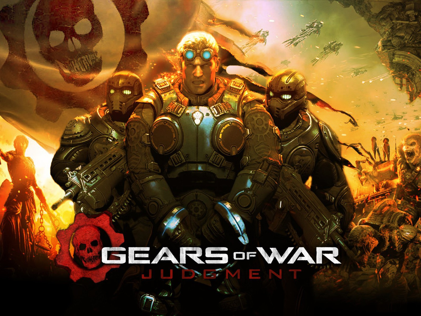Gears Of War 3 Hd Wallpapers For Android: Video Games Gears Of War Wallpaper