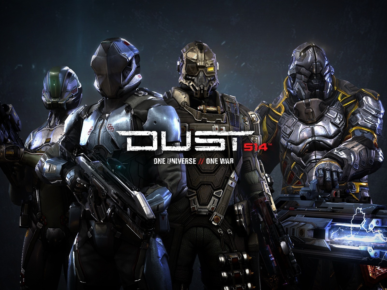 Cgi Dust 514 Video Games Wallpaper