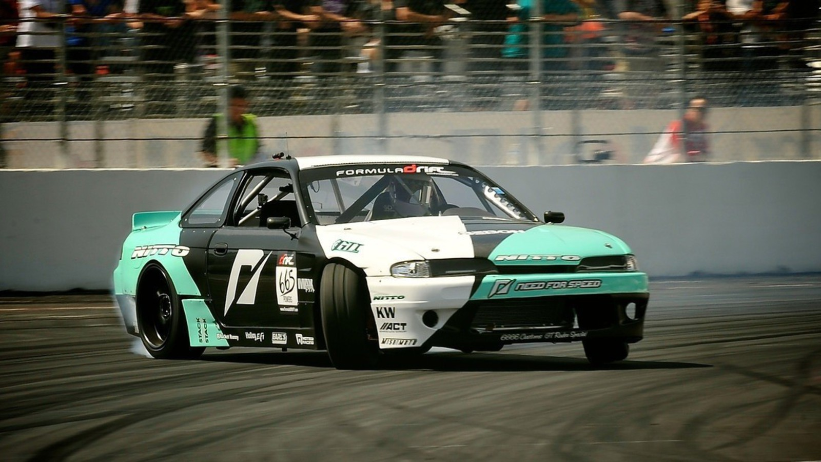 Formula Drift Drifting 200sx Matt Powers S14 Wallpaper