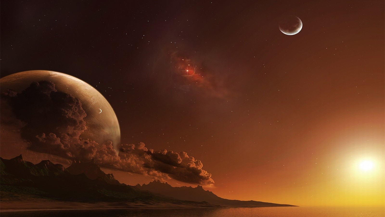 space wallpapers 1600x900 - photo #21