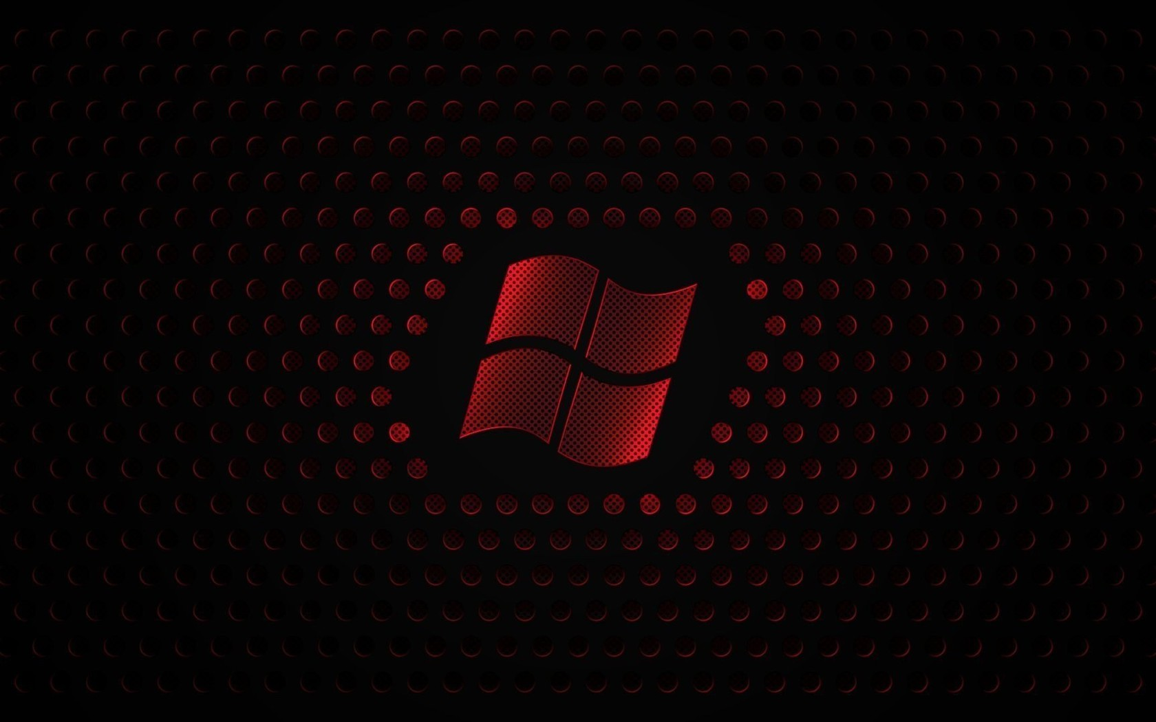 red microsoft windows 7 logo 8 wallpaper allwallpaperin