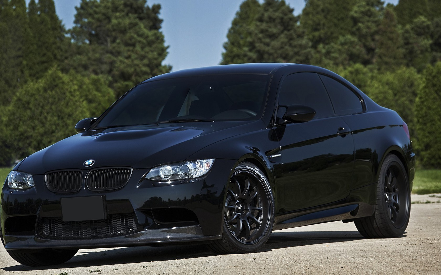 Bmw M3 Germany Black Cars Nature Wallpaper Allwallpaper