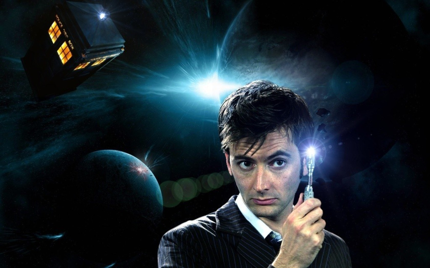Tardis david tennant doctor who tenth sonic screwdriver wallpaper ...