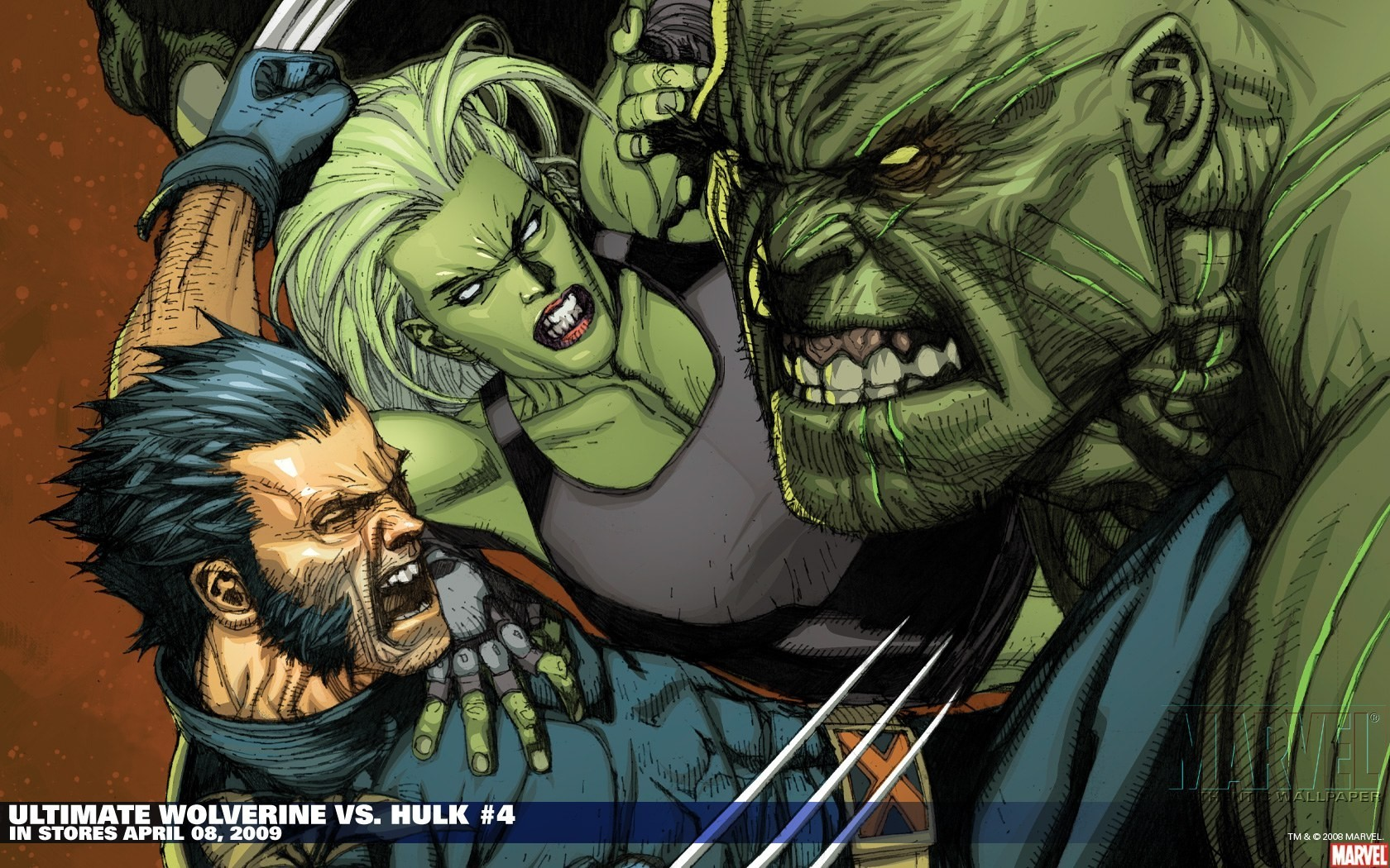 Wallpapers Comics marvel zombie. »