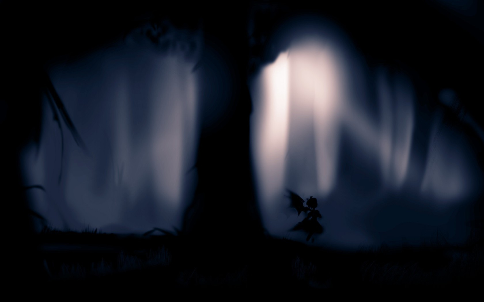 1920x1200 wallpaper forest silhouette - photo #2