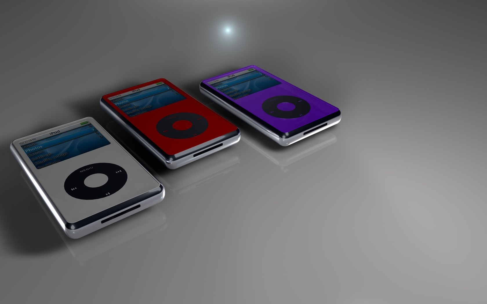 Abstract Ipod Music Player Wallpaper