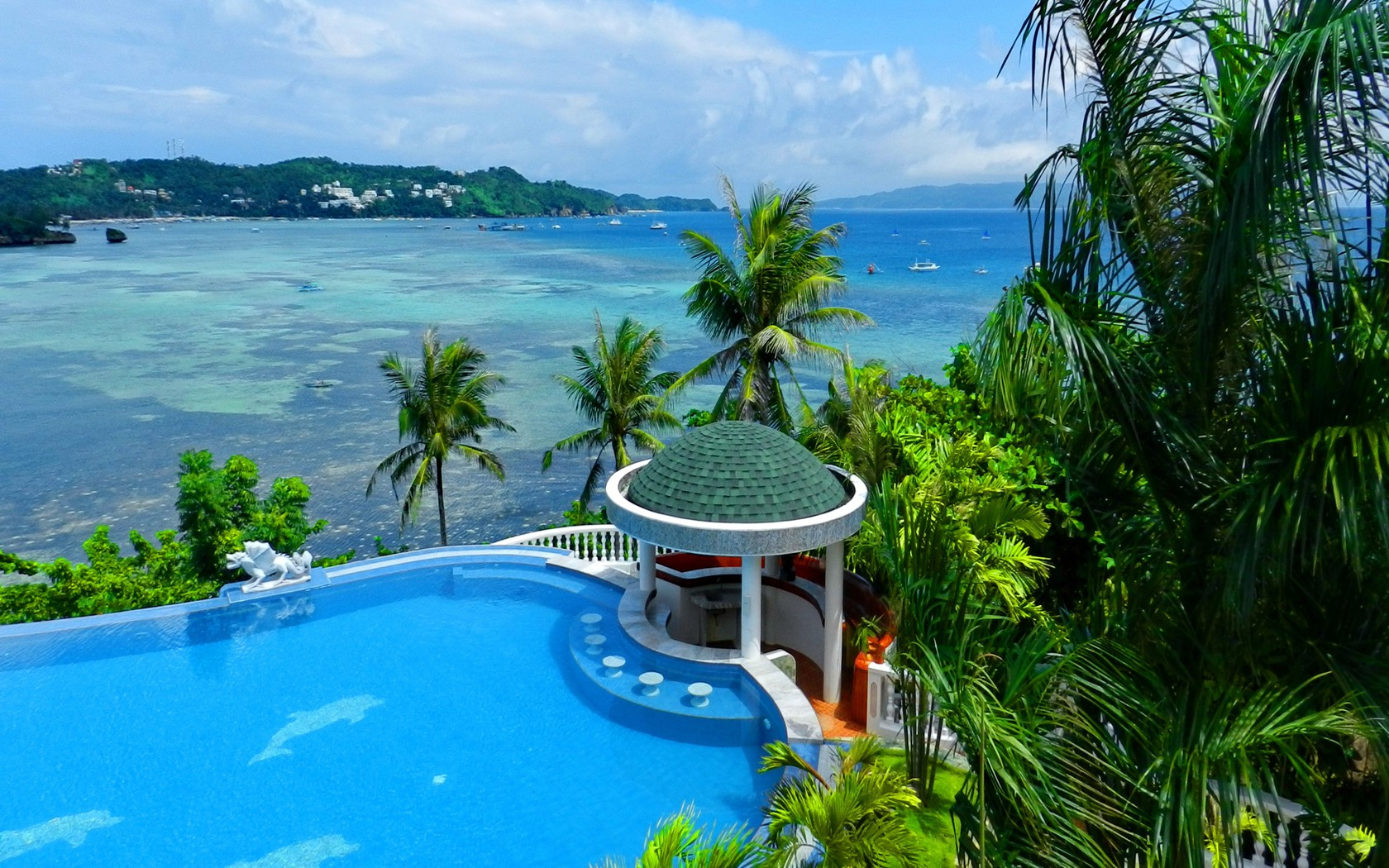 Hd Tropical Island Beach Paradise Wallpapers And Backgrounds: Tropical View Wallpaper