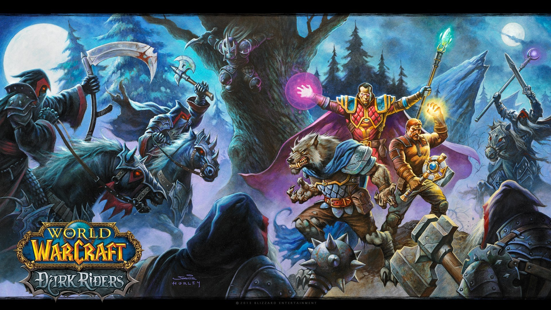Video Games World Of Warcraft Blizzard Entertainment Widescreen