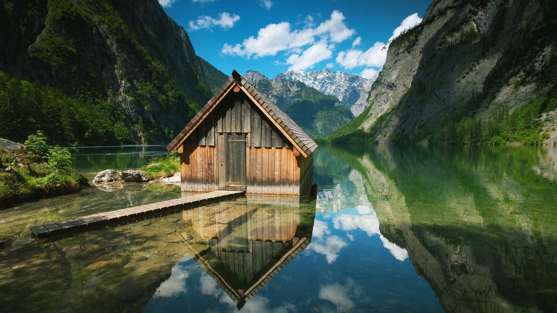 a house in lake wallpaper | allwallpaper.in #10729 | pc | en