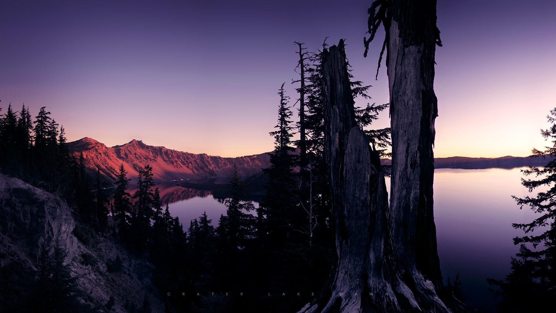 greg martin crater lake dawn lakes landscapes wallpaper