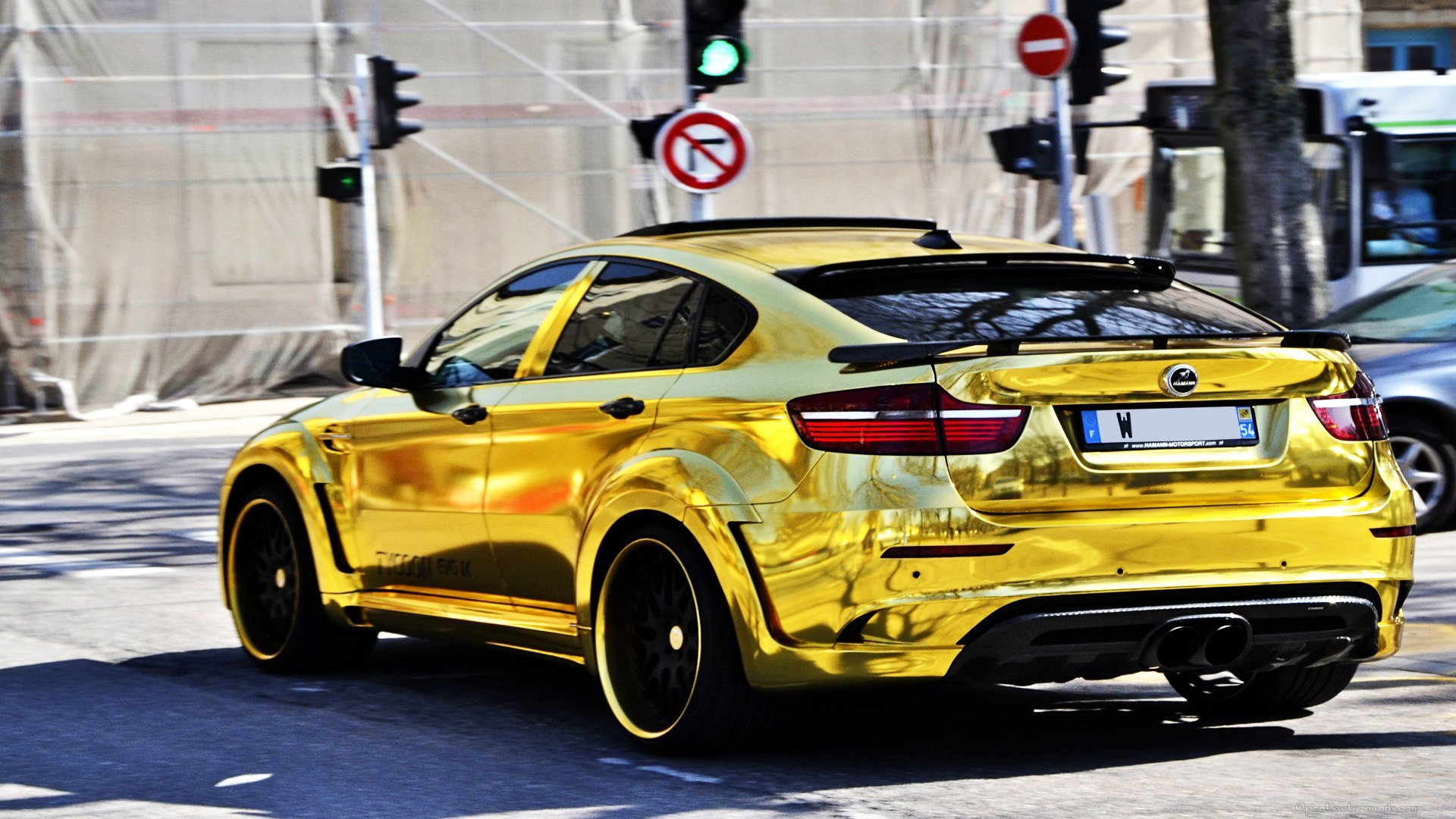 Bmw X6 M Hamann In Gold Wallpaper Allwallpaper In 11507 Pc En