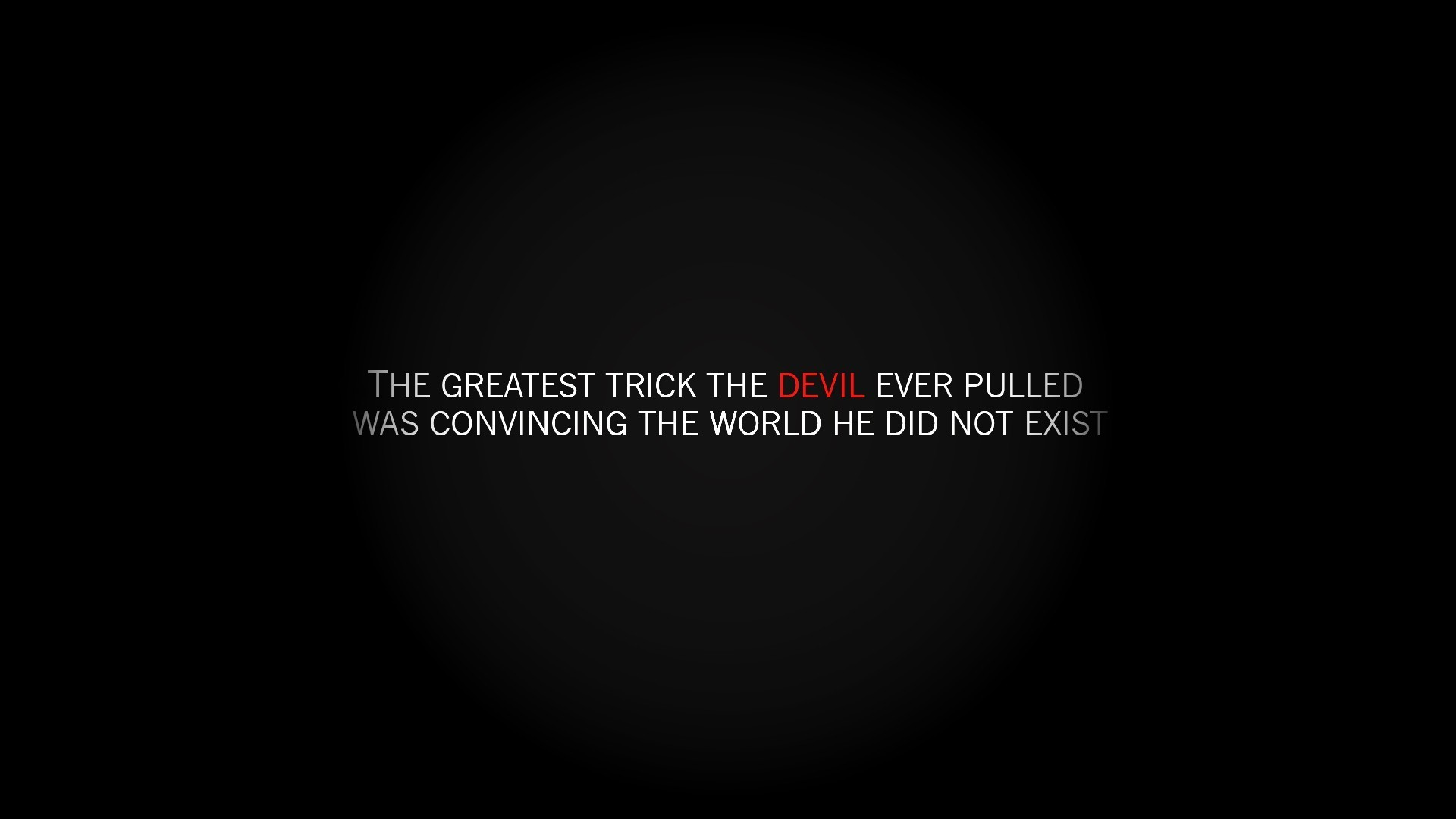 Devil Quotes Saying Wallpaper