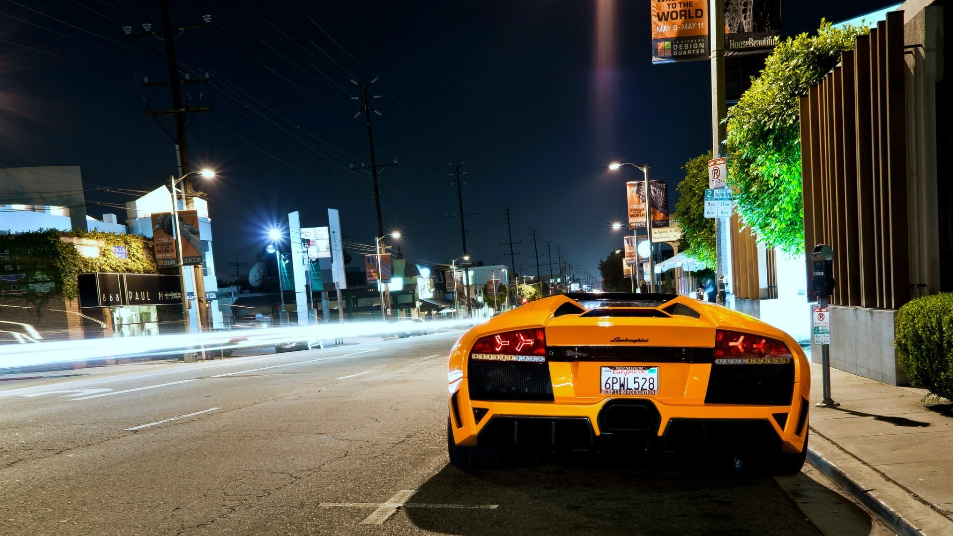 Background Car Hd Wallpapers Cities: Cars Lamborghini Wallpaper