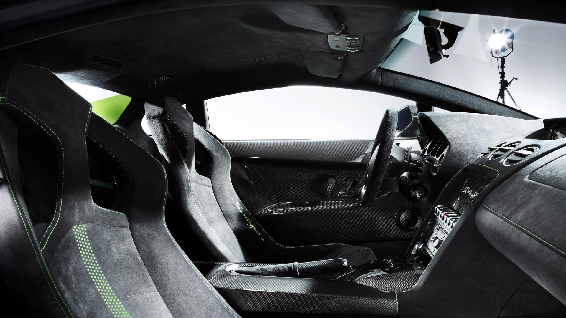 Lamborghini Gallardo Lp5704 Superleggera Car Interiors Wallpaper
