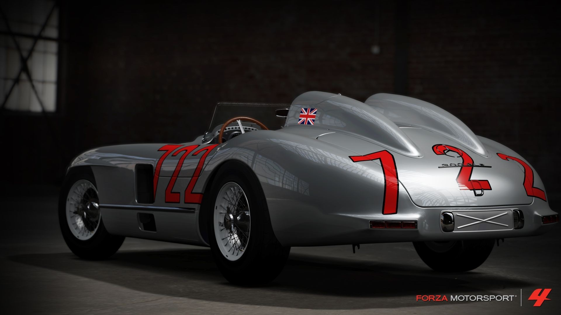 1955 mercedes benz 300slr forza motorsport 4 wallpaper for Mercedes benz motorsport