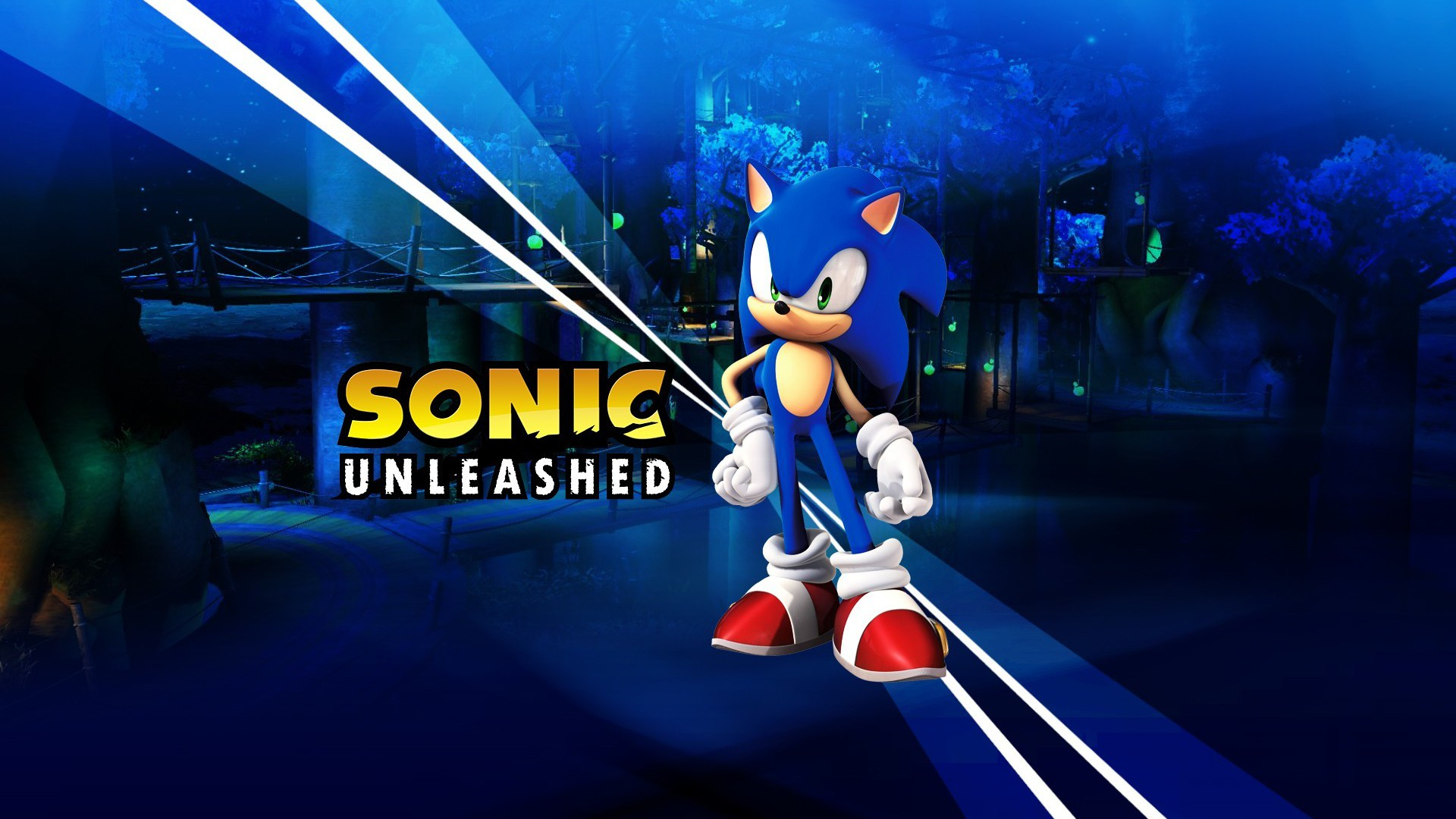 Sonic The Hedgehog Unleashed Wallpaper Allwallpaper In
