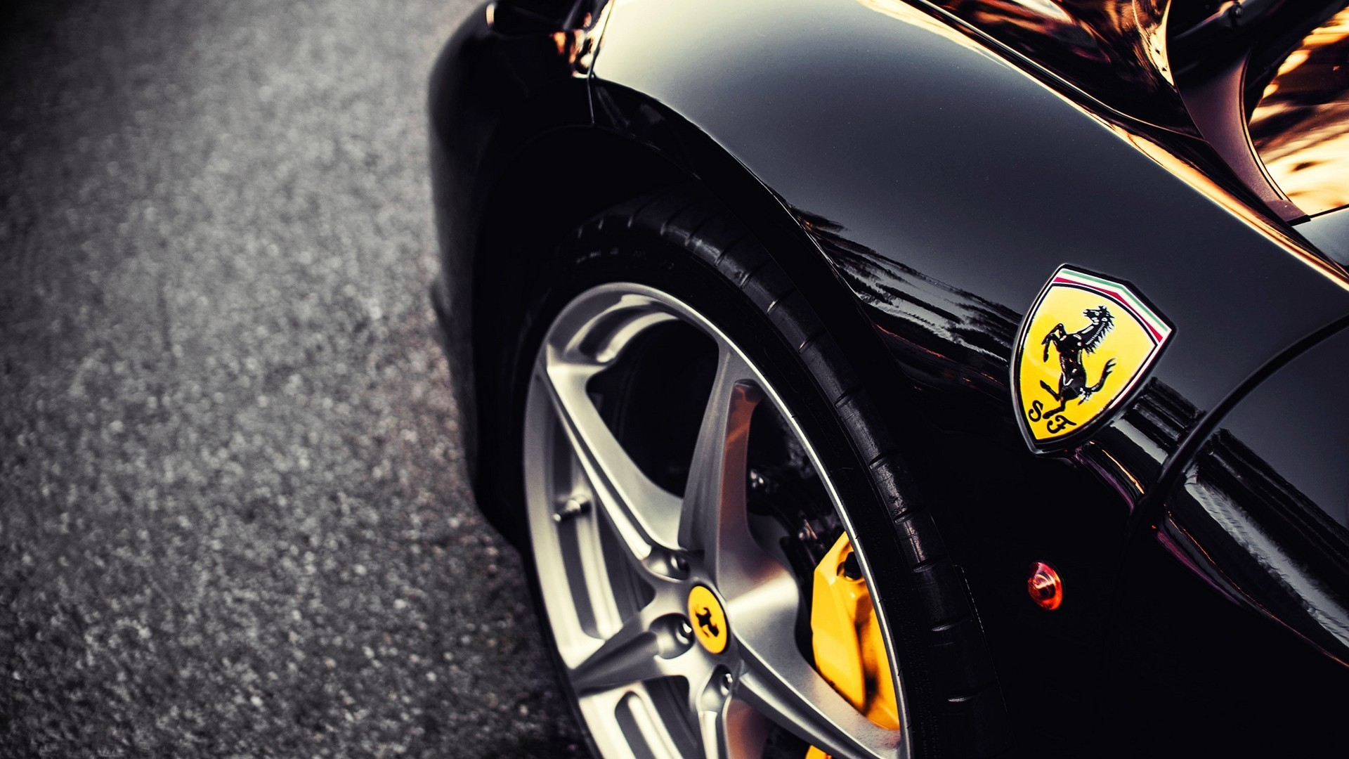 Close Up Cars Ferrari Vehicles Emblem Wallpaper