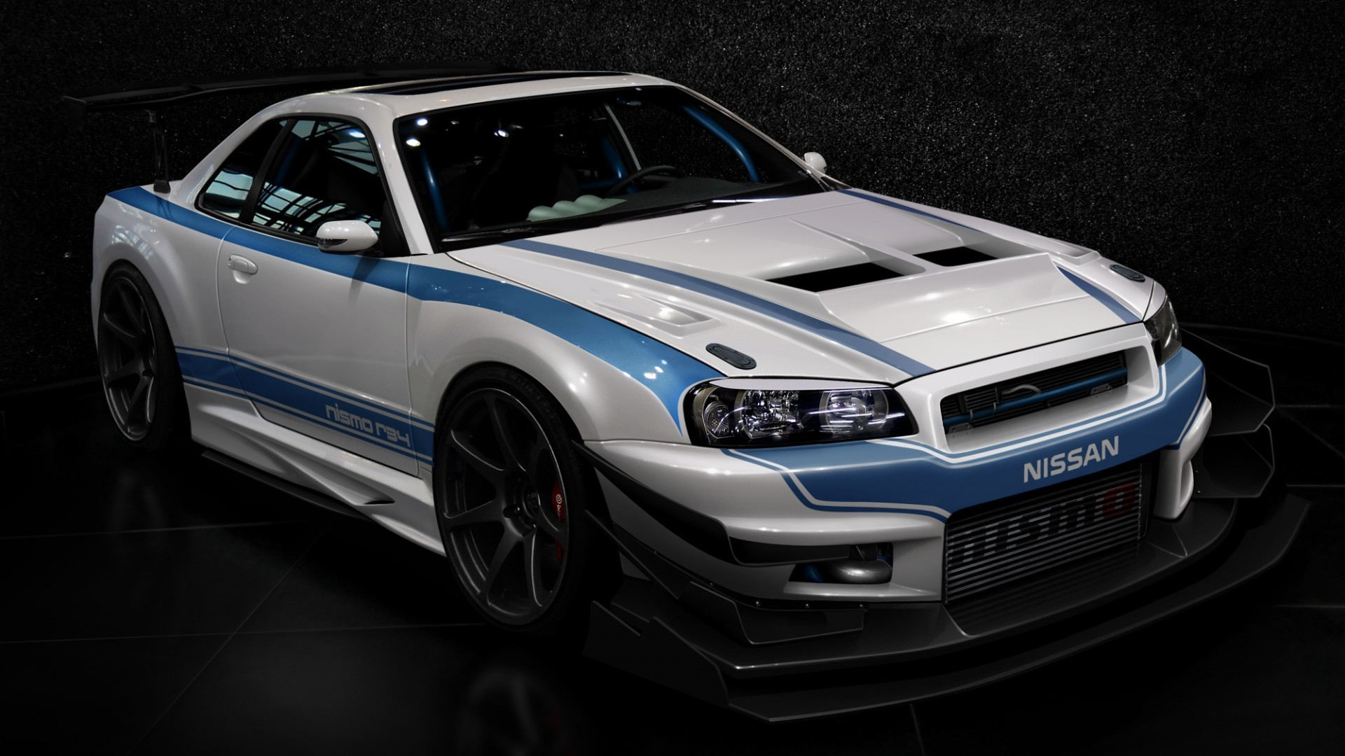 cars design tuning tuned nissan skyline r34 gt r wallpaper. Black Bedroom Furniture Sets. Home Design Ideas