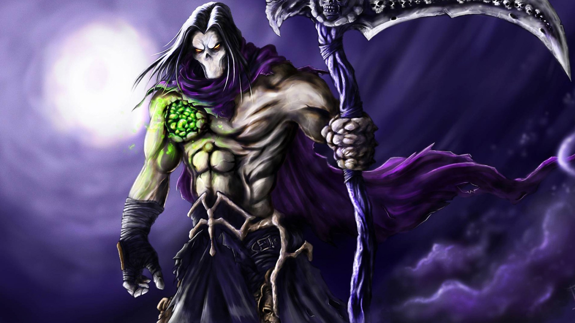video games death scythe darksiders 2 wallpaper | allwallpaper.in