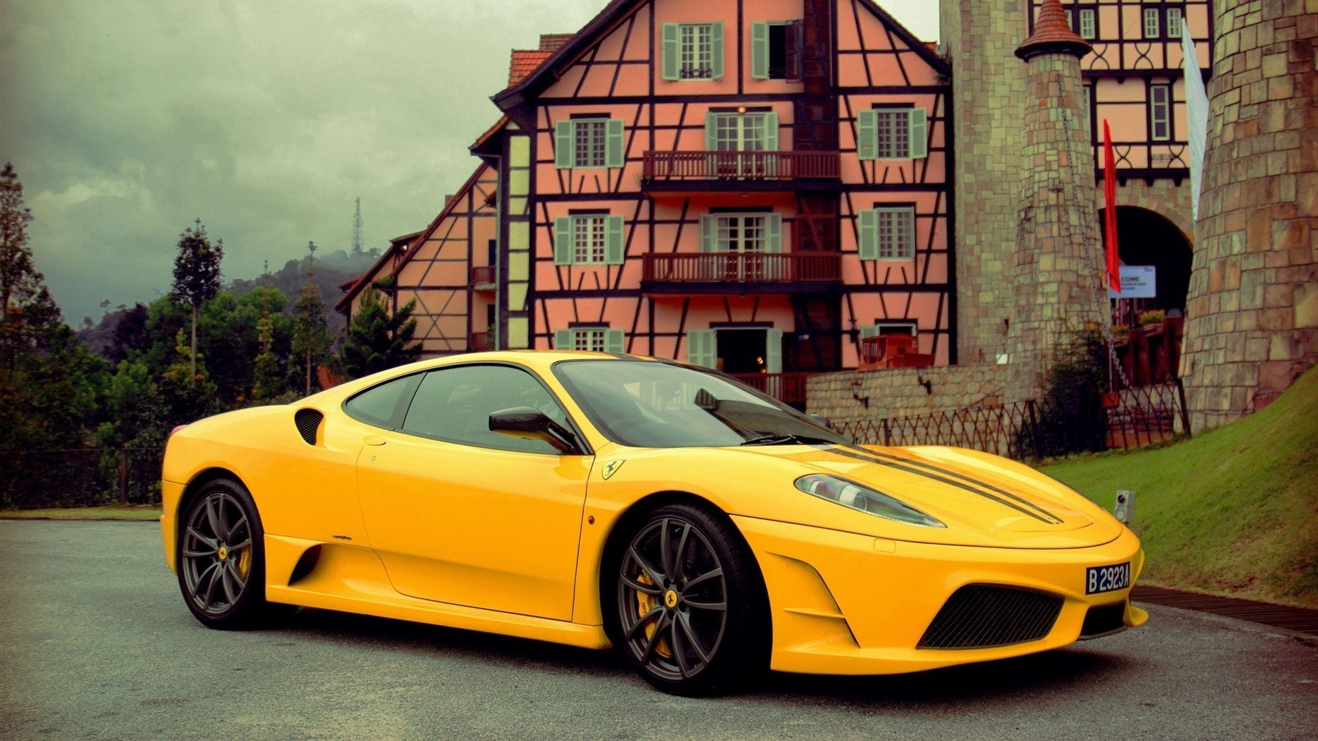 Ferrari Luxury Sport Car The Road Cars Engines Wallpaper