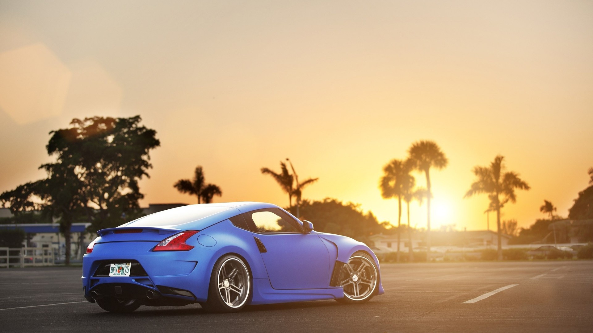 Nissan Fairlady Z >> Sunset blue nissan 370z wallpaper | AllWallpaper.in #16490 | PC | en
