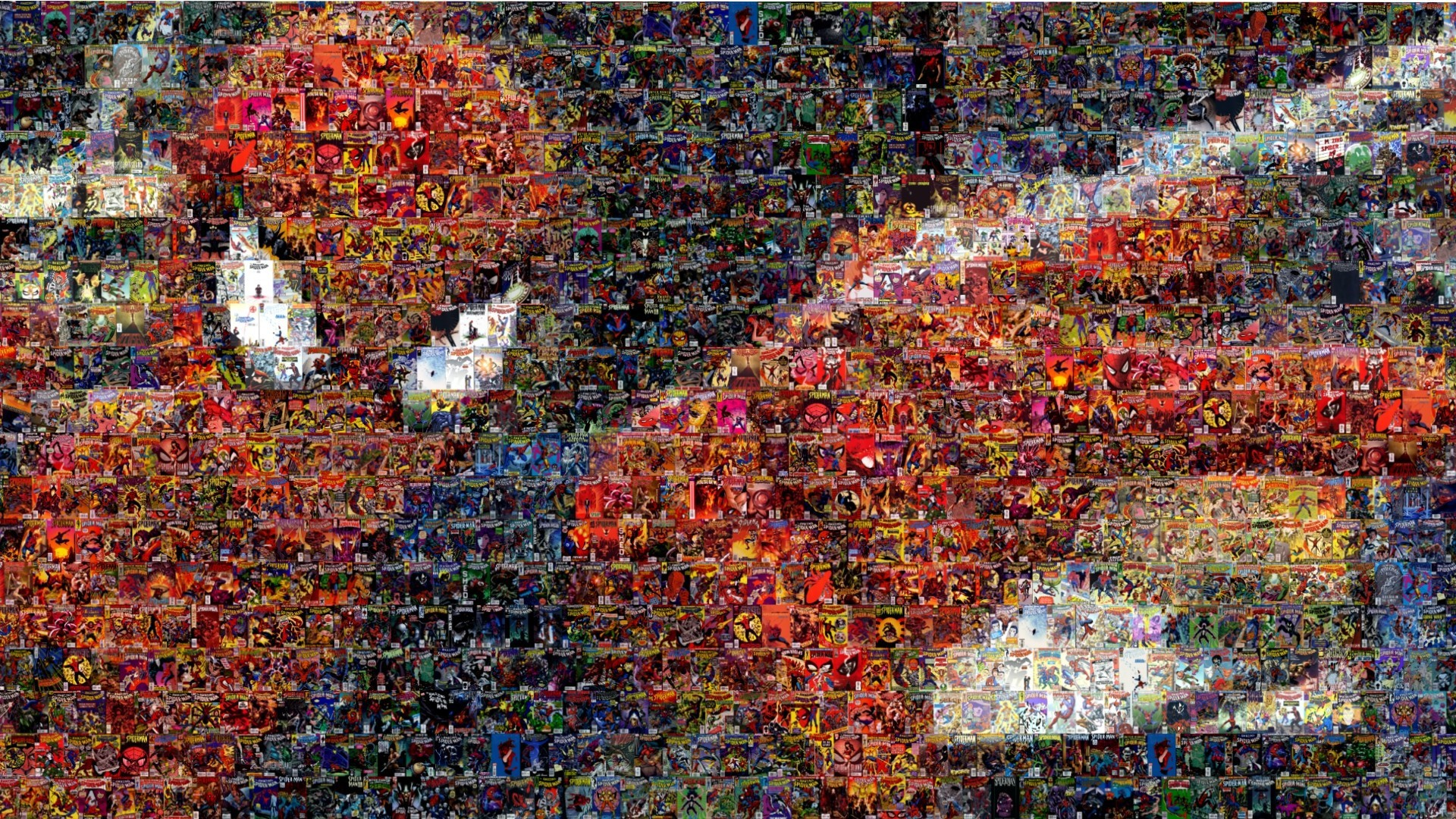 Spider Man Mosaic Marvel Comics Comic Books Wallpaper