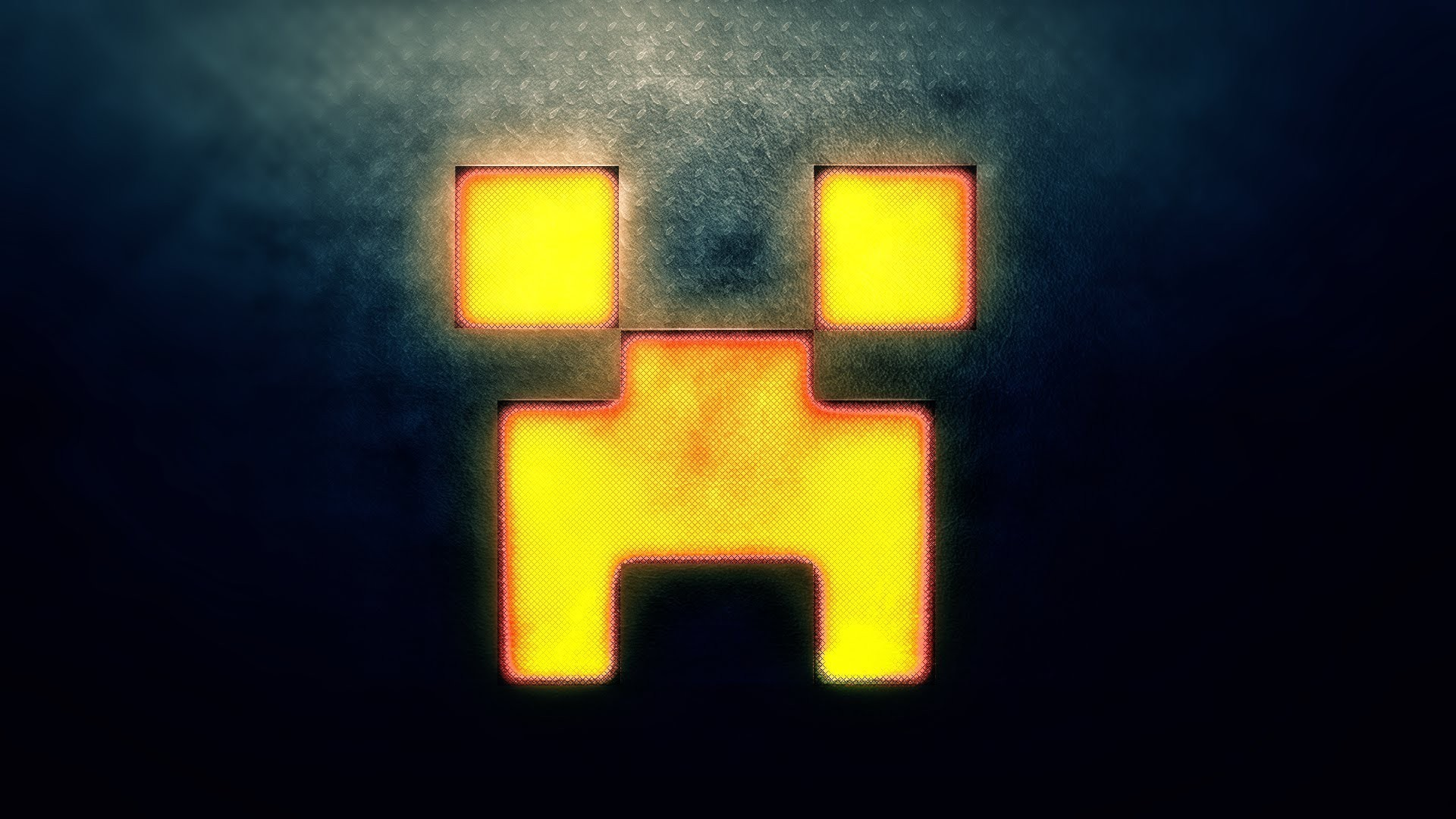 Minecraft Creeper Gesicht Wallpaper