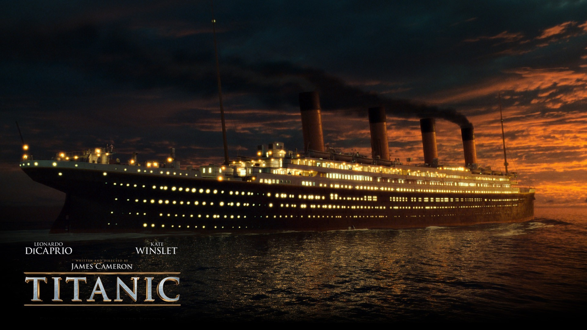 Dicaprio Hollywood Movie Posters 3d James Cameron Wallpaper