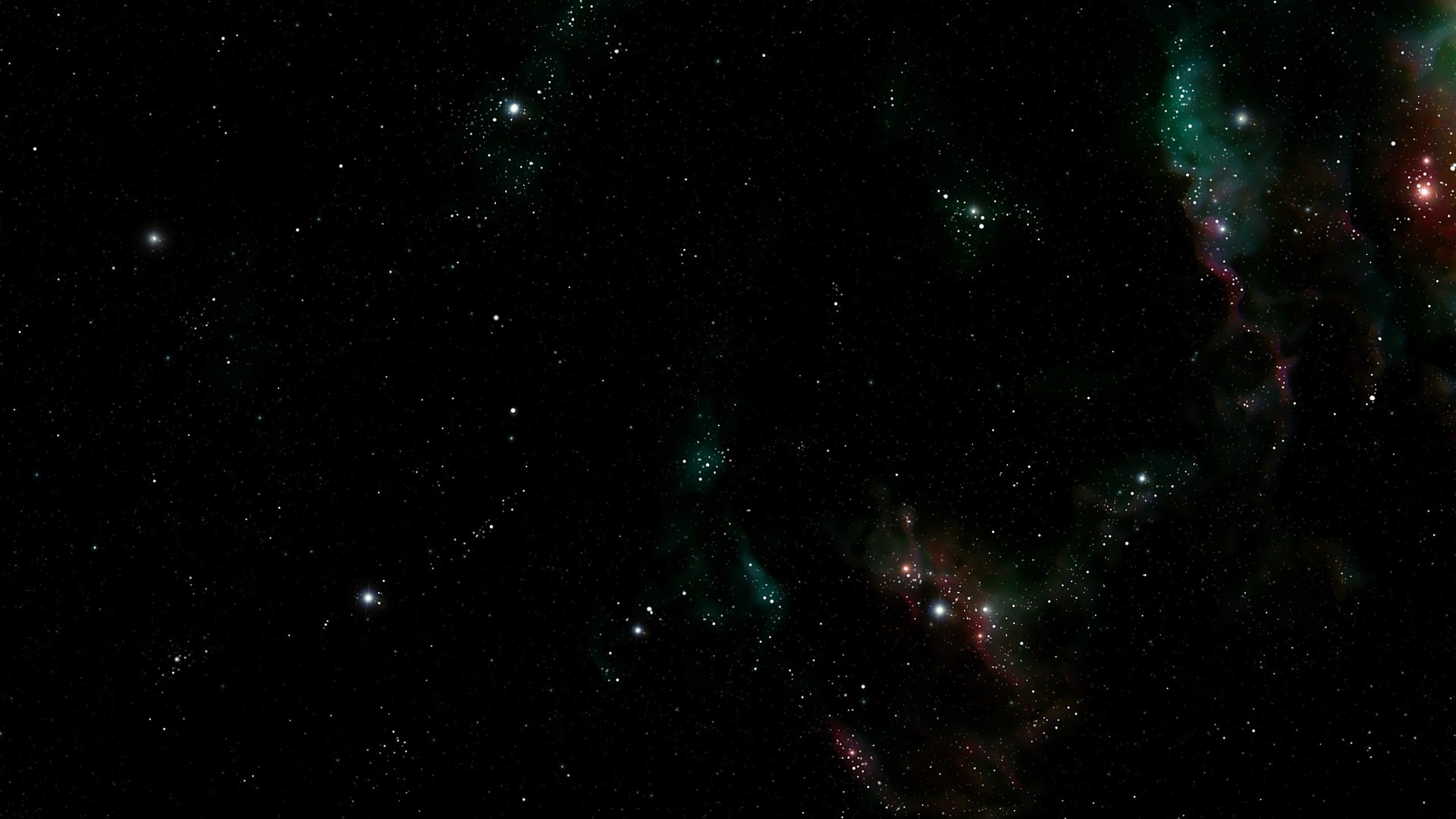 Dark Outer Space Stars Wallpaper