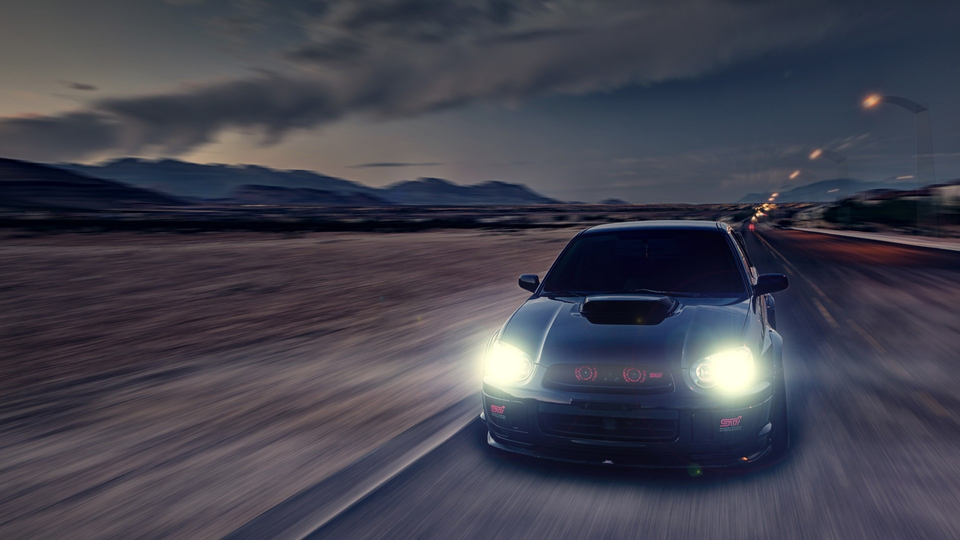 subaru wrx sti iphone wallpaper