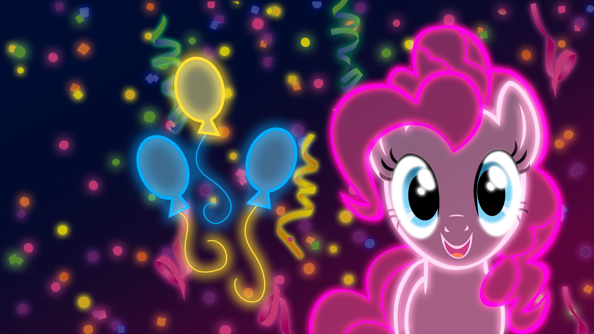 my little pony: friendship is magic neon wallpaper | allwallpaper.in