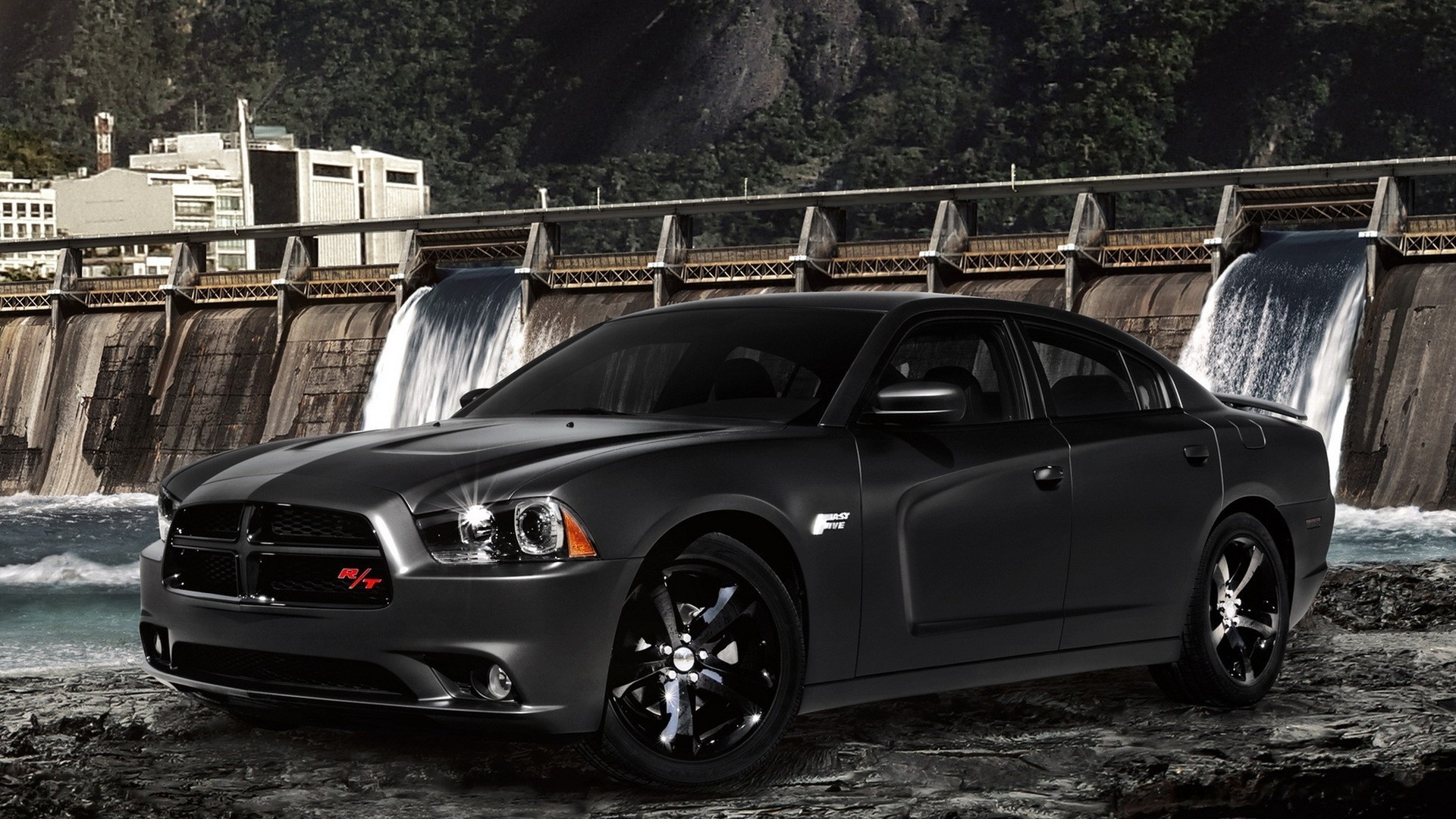 Dodge Charger Fast Five Automobiles Cars Races Wallpaper