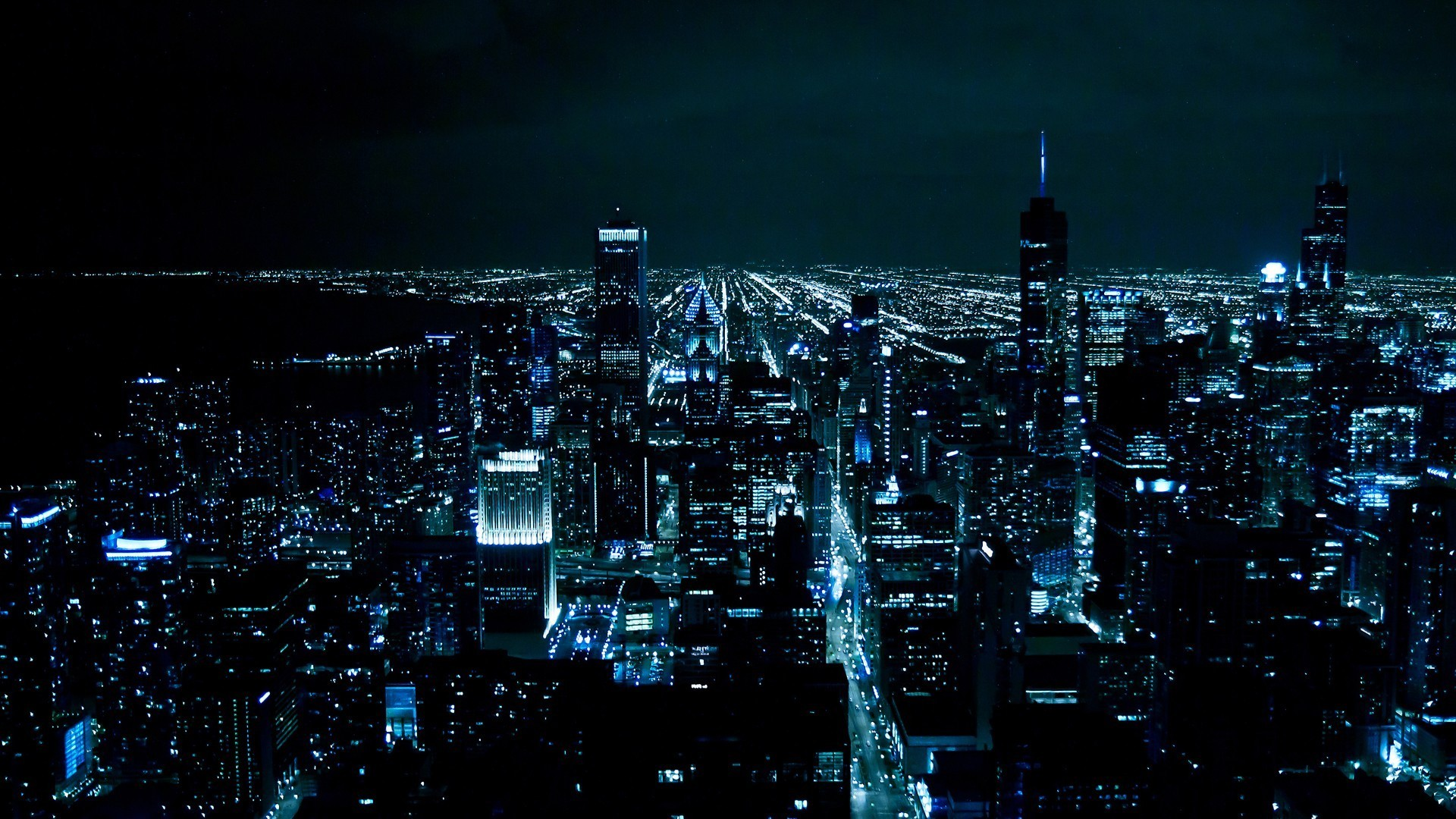chicago at night wallpaper | allwallpaper.in #421 | pc | en