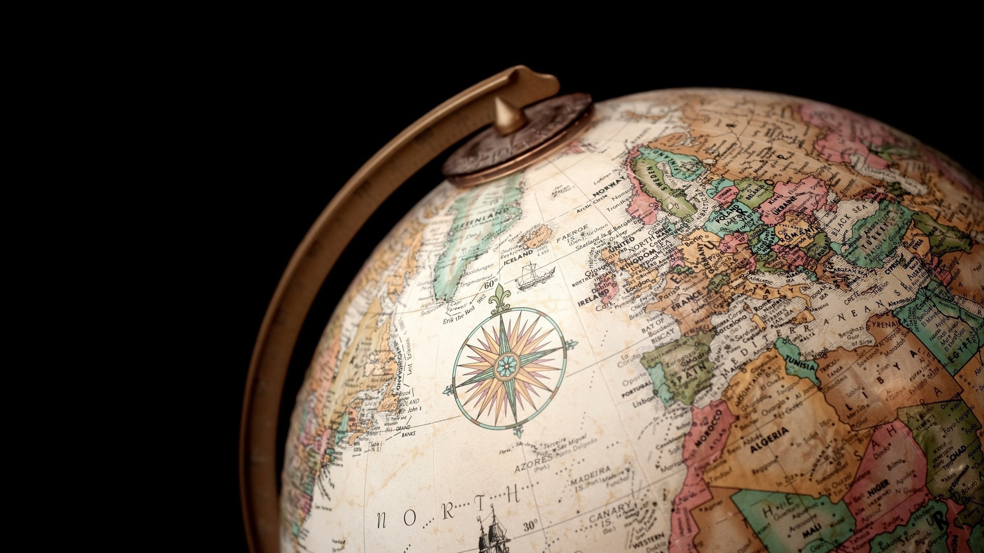 globe globes maps old map world wallpaper | allwallpaper.in #4219