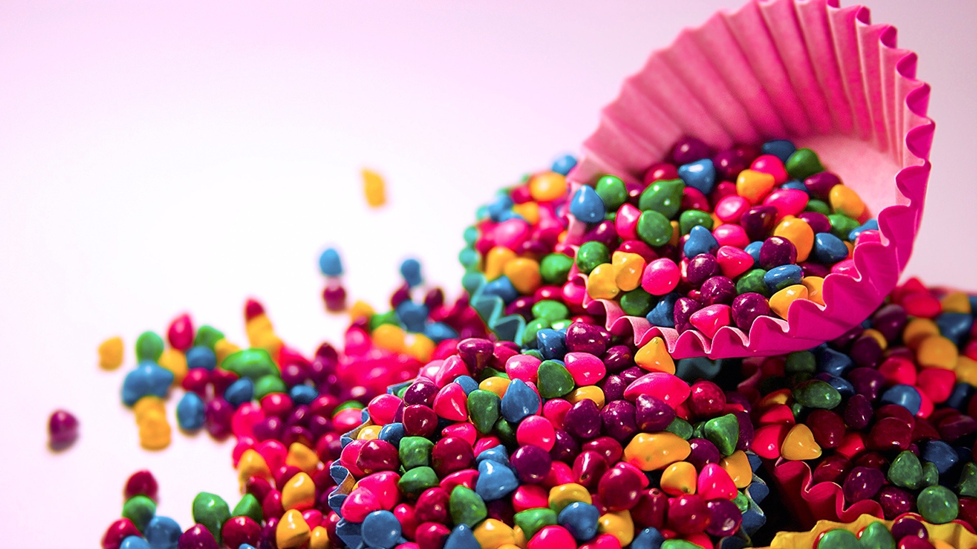 Colorful Candy Wallpaper