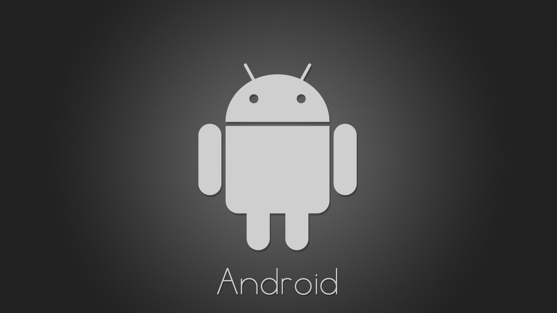 Minimalistic android logos wallpaper for Wallpaper home screen android
