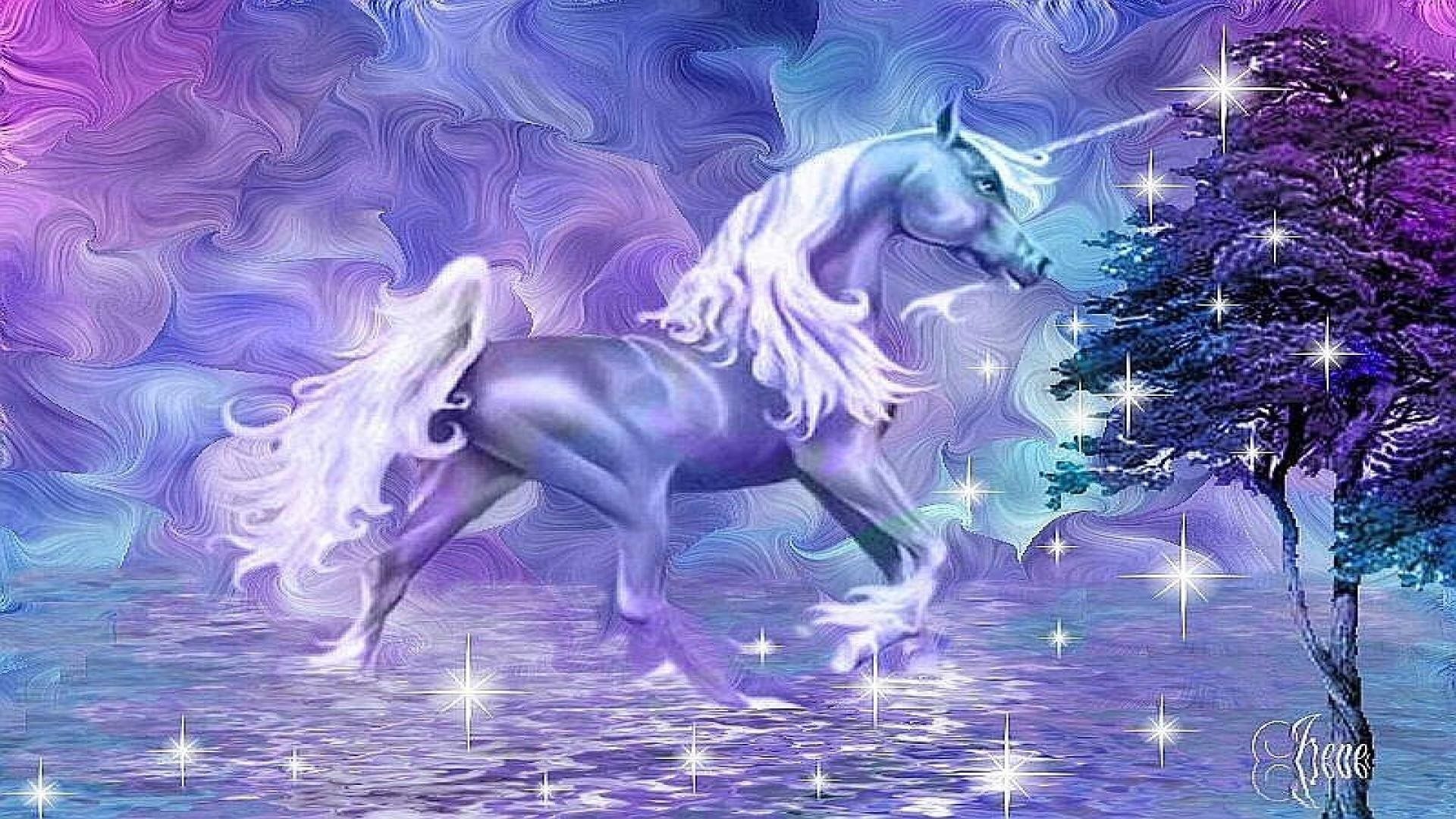 Hd wallpaper unicorn - Purple Unicorn Wallpaper
