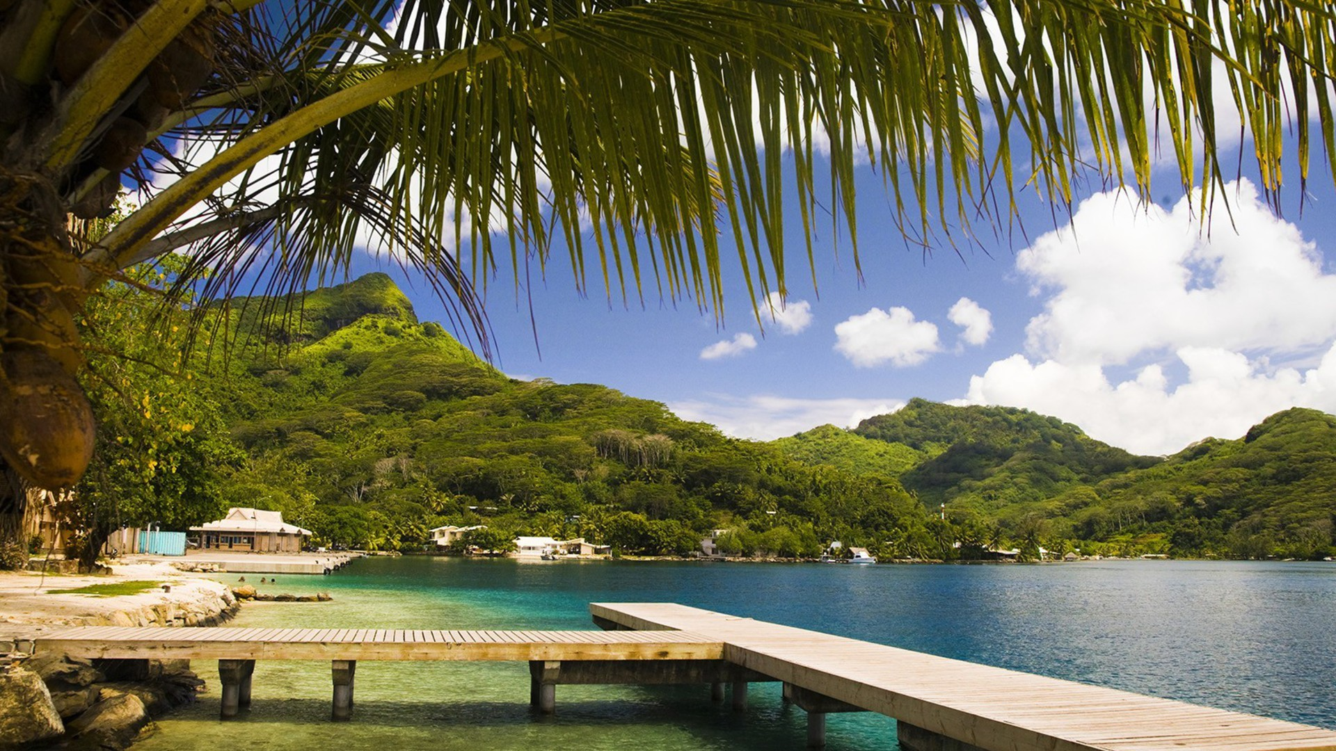 Nature French Polynesia Tahiti Wallpaper Allwallpaper In