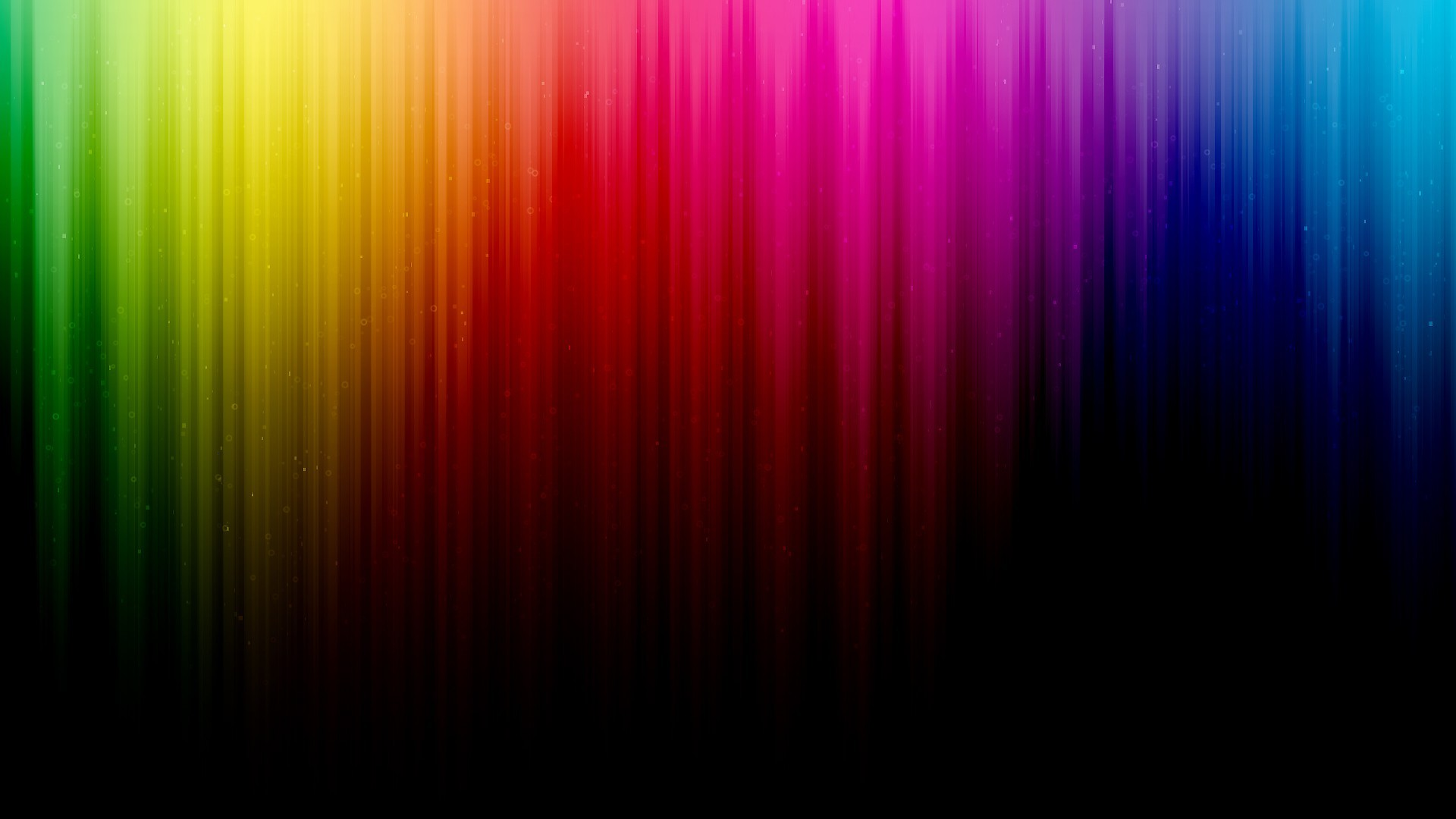 green abstract blue red spectrum rainbows lines colors