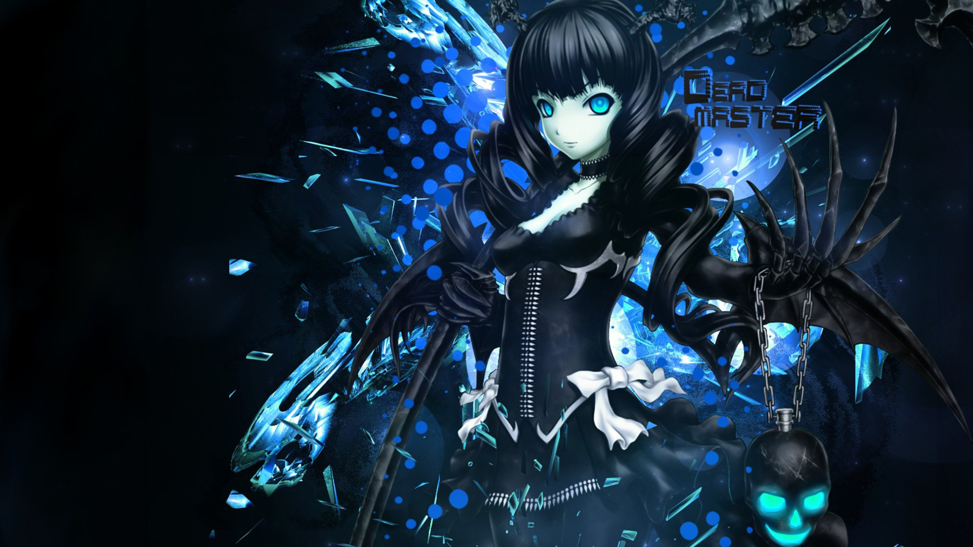 Blue dead master anime wallpaper 9968 - Blue anime wallpaper ...