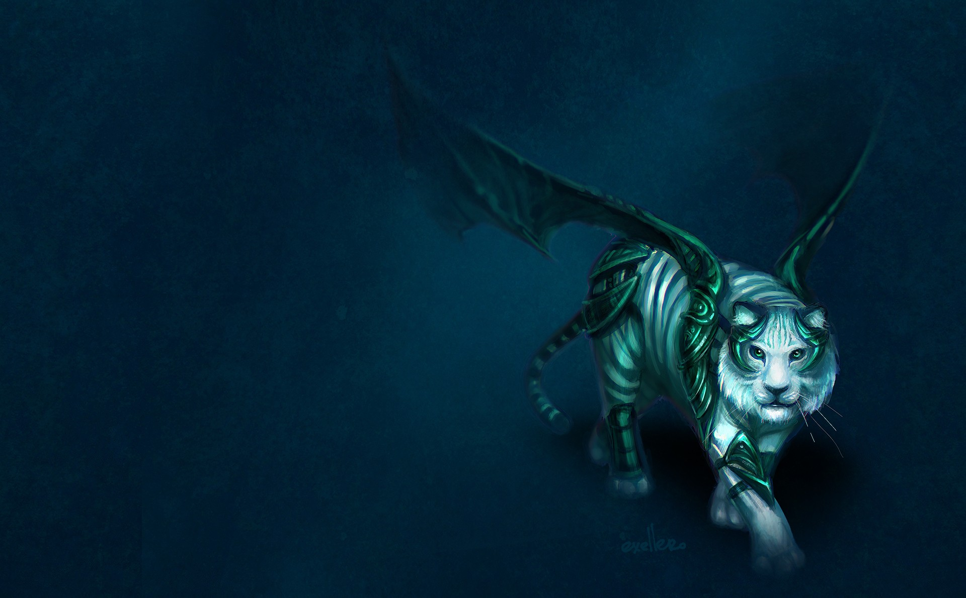 Fantasy Tiger Wallpaper Allwallpaper In 7250 Pc En